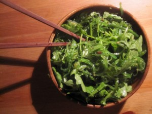 Seaweed Salad with Extra Greens
